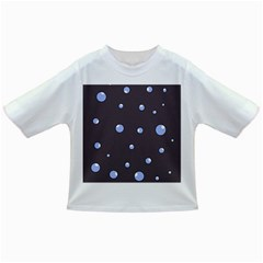 Blue Bubbles Infant/toddler T Shirts by Valentinaart