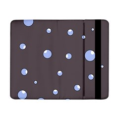 Blue Bubbles Samsung Galaxy Tab Pro 8 4  Flip Case by Valentinaart