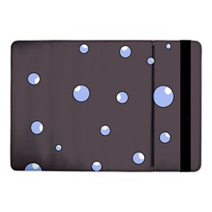 Blue Bubbles Samsung Galaxy Tab Pro 10 1  Flip Case by Valentinaart