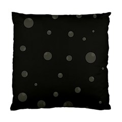Gray Bubbles Standard Cushion Case (two Sides) by Valentinaart