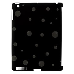Gray Bubbles Apple Ipad 3/4 Hardshell Case (compatible With Smart Cover) by Valentinaart
