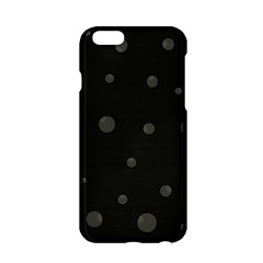 Gray Bubbles Apple Iphone 6/6s Hardshell Case by Valentinaart