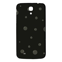 Gray Bubbles Samsung Galaxy Mega I9200 Hardshell Back Case by Valentinaart