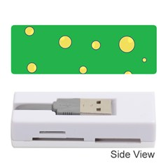 Yellow Bubbles Memory Card Reader (stick)