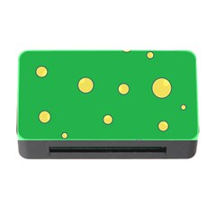 Yellow Bubbles Memory Card Reader With Cf