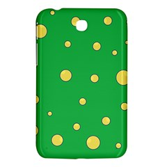 Yellow Bubbles Samsung Galaxy Tab 3 (7 ) P3200 Hardshell Case
