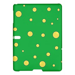 Yellow Bubbles Samsung Galaxy Tab S (10 5 ) Hardshell Case  by Valentinaart