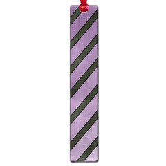 Purple Elegant Lines Large Book Marks