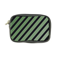 Green Elegant Lines Coin Purse by Valentinaart