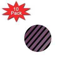 Elegant Lines 1  Mini Buttons (10 Pack)  by Valentinaart