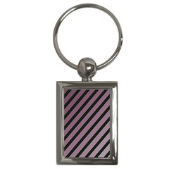 Elegant Lines Key Chains (rectangle)  by Valentinaart