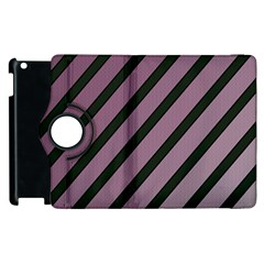 Elegant Lines Apple Ipad 3/4 Flip 360 Case by Valentinaart
