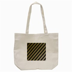Decorative Elegant Lines Tote Bag (cream) by Valentinaart