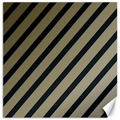 Decorative Elegant Lines Canvas 20  X 20