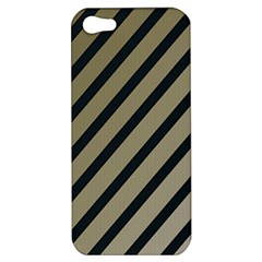 Decorative Elegant Lines Apple Iphone 5 Hardshell Case