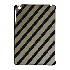 Decorative Elegant Lines Apple Ipad Mini Hardshell Case (compatible With Smart Cover) by Valentinaart