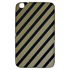 Decorative Elegant Lines Samsung Galaxy Tab 3 (8 ) T3100 Hardshell Case  by Valentinaart