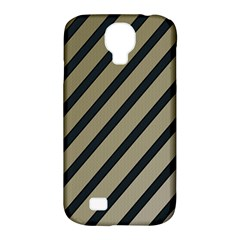 Decorative Elegant Lines Samsung Galaxy S4 Classic Hardshell Case (pc+silicone) by Valentinaart