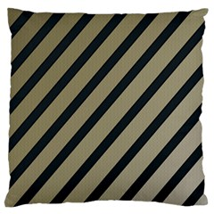 Decorative Elegant Lines Standard Flano Cushion Case (two Sides) by Valentinaart