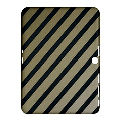 Decorative Elegant Lines Samsung Galaxy Tab 4 (10 1 ) Hardshell Case  by Valentinaart