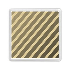 Golden Elegant Lines Memory Card Reader (square)  by Valentinaart