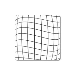 Simple Lines Square Magnet by Valentinaart