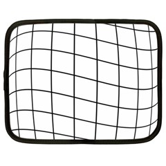 Simple Lines Netbook Case (large)