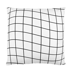 Simple Lines Standard Cushion Case (one Side) by Valentinaart