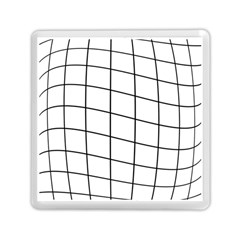 Simple Lines Memory Card Reader (square)  by Valentinaart