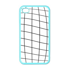 Simple Lines Apple Iphone 4 Case (color) by Valentinaart