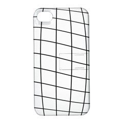Simple Lines Apple Iphone 4/4s Hardshell Case With Stand by Valentinaart