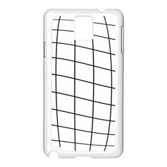 Simple Lines Samsung Galaxy Note 3 N9005 Case (white)