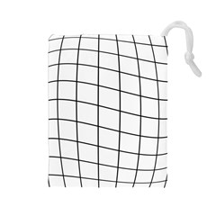 Simple Lines Drawstring Pouches (large)