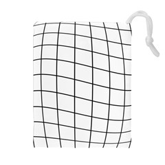 Simple Lines Drawstring Pouches (extra Large)