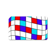 Colorful Cubes  Magnet (name Card) by Valentinaart