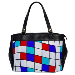 Colorful Cubes  Office Handbags by Valentinaart