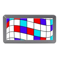Colorful Cubes  Memory Card Reader (mini) by Valentinaart
