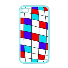 Colorful Cubes  Apple Iphone 4 Case (color) by Valentinaart