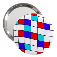 Colorful Cubes  3  Handbag Mirrors by Valentinaart