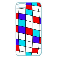 Colorful Cubes  Apple Seamless Iphone 5 Case (color) by Valentinaart