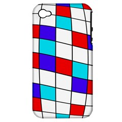 Colorful Cubes  Apple Iphone 4/4s Hardshell Case (pc+silicone) by Valentinaart