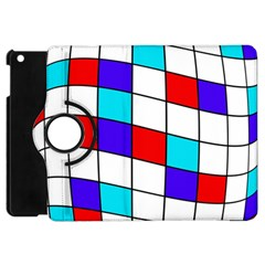 Colorful Cubes  Apple Ipad Mini Flip 360 Case by Valentinaart