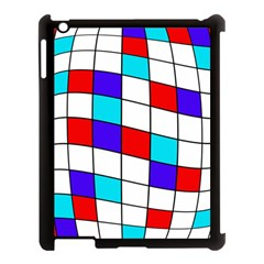 Colorful Cubes  Apple Ipad 3/4 Case (black) by Valentinaart