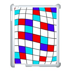 Colorful Cubes  Apple Ipad 3/4 Case (white) by Valentinaart