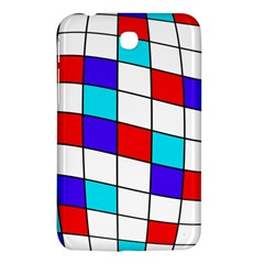 Colorful Cubes  Samsung Galaxy Tab 3 (7 ) P3200 Hardshell Case  by Valentinaart