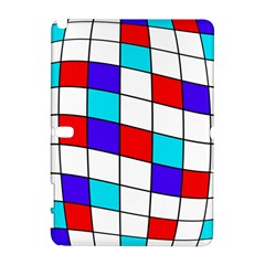 Colorful Cubes  Samsung Galaxy Note 10 1 (p600) Hardshell Case by Valentinaart