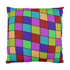 Colorful Cubes  Standard Cushion Case (two Sides) by Valentinaart