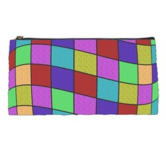 Colorful Cubes  Pencil Cases by Valentinaart