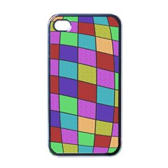 Colorful Cubes  Apple Iphone 4 Case (black) by Valentinaart