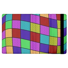 Colorful Cubes  Apple Ipad 3/4 Flip Case by Valentinaart
